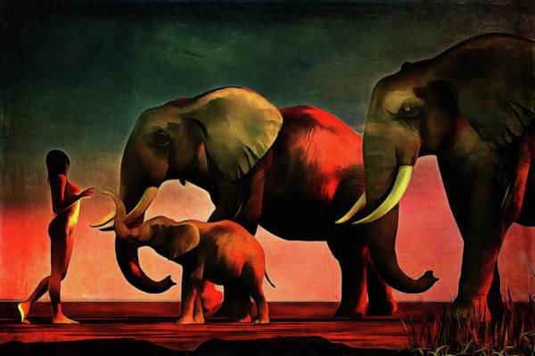 Painting - La Rencontre by Jan Keteleer