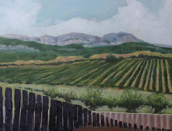 Painting - La Rioja Valley by Dennis Sullivan