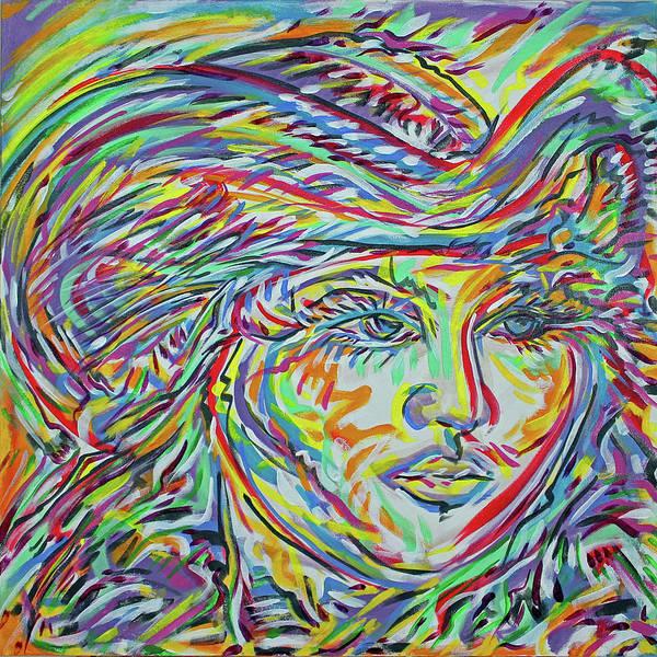 Ranchera Wall Art - Painting - La Rosita by Jimmy Longoria