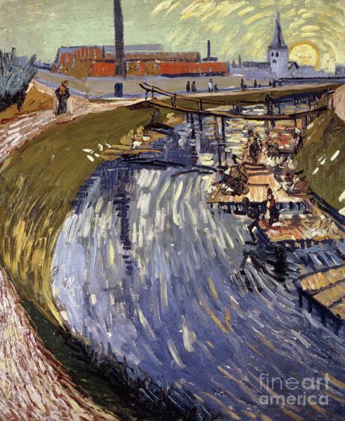 Painting - La Roubine Du Roi, 1888  by Vincent Van Gogh