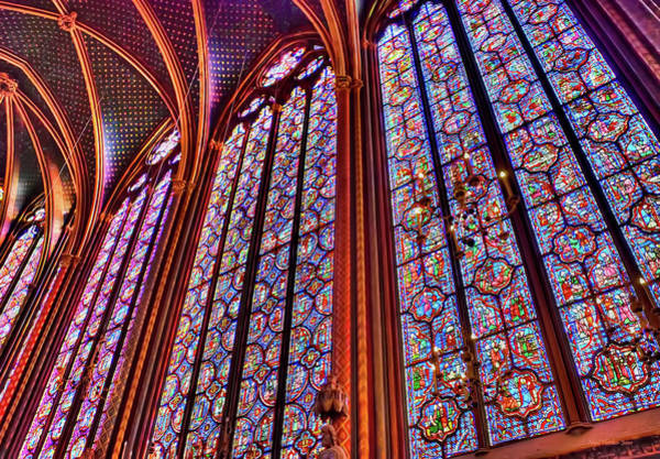 La Sainte-chapelle Art Print