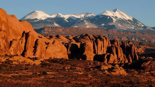 Photograph - La Sal Mountains by Tranquil Light Photography