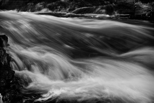 Wall Art - Photograph - La Salle Falls- Florence County Wisconsin by Jim Dohms