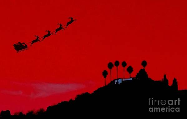 Photograph - L. A. Santa by Jenny Revitz Soper