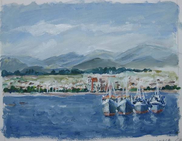 Painting - La Serena Chile II by Ingrid Dohm