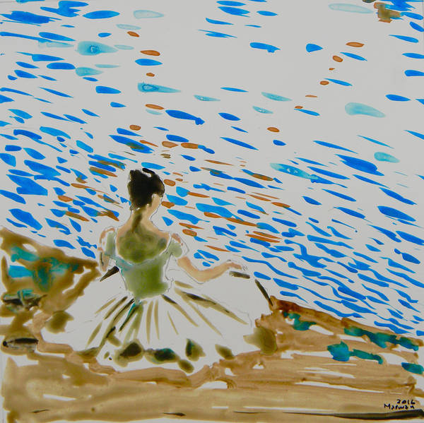 Painting - La Sylphide by Marwan George Khoury
