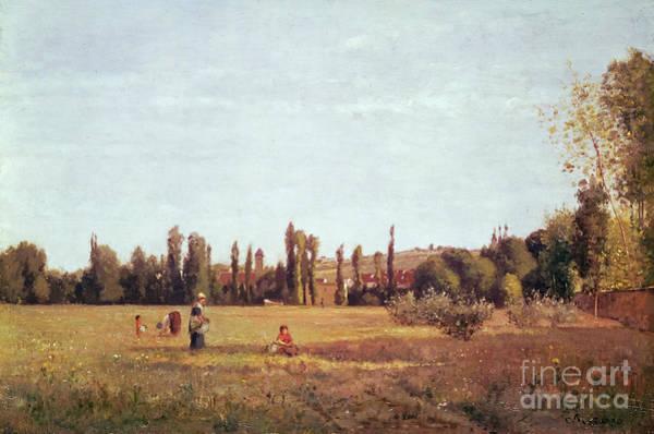 Camille Wall Art - Painting - La Varenne De St. Hilaire by Camille Pissarro