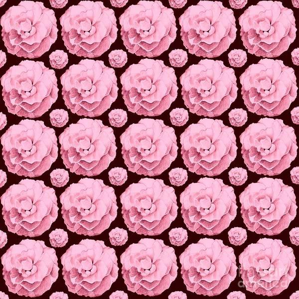 Digital Art - La Vie En Rose by Helena Tiainen