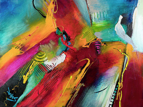 Wall Art - Painting - La Vie Est Belle I by Jonas Gerard