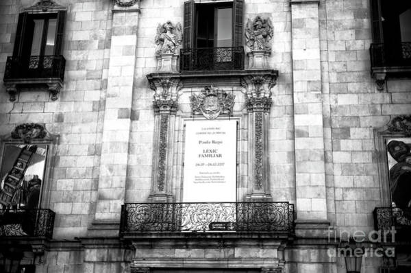 Photograph - La Virreina Centre De La Imatge Barcelona by John Rizzuto