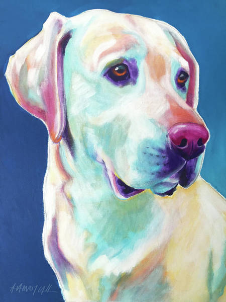 Wall Art - Painting - Lab - Diego by Alicia VanNoy Call