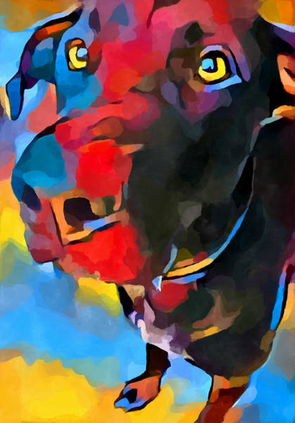 Wall Art - Painting - Labrador Retriever 3 by Chris Butler