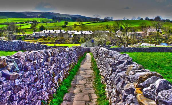 Grassington Photograph - Labyrinth Of Grassington by Scott Perkins