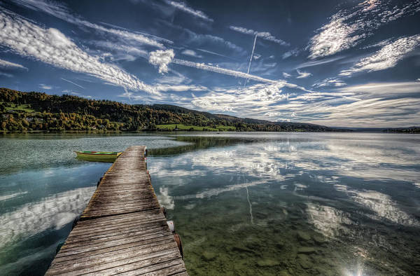 Wall Art - Photograph - Lac Saint-point by Philippe Saire - Photography