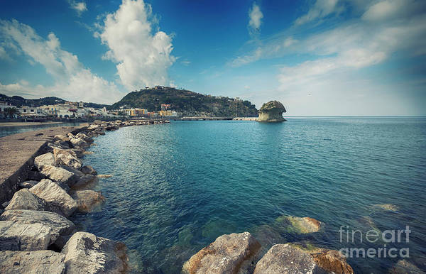 Photograph - Lacco Ameno Harbour ,  Ischia Island by Ariadna De Raadt