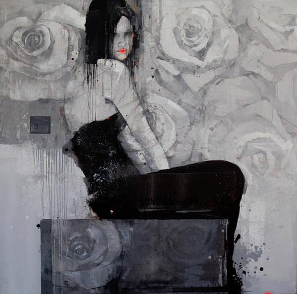 Wall Art - Painting - Lace by Viktor Sheleg
