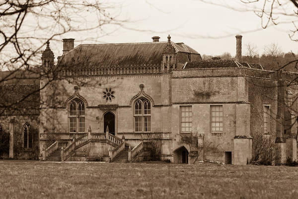 Photograph - Lacock Abbey 3 by Clare Bambers