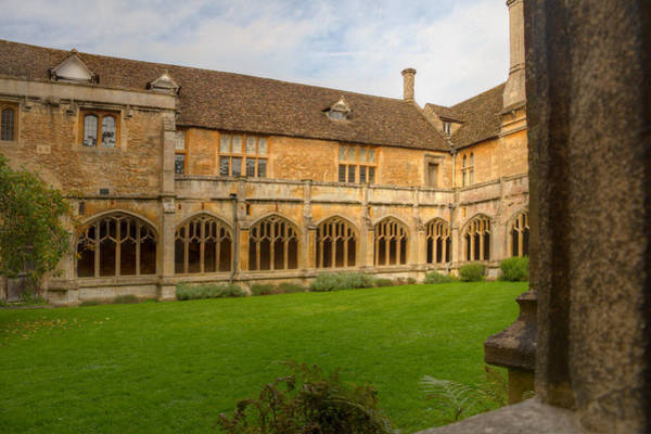Photograph - Lacock Abbey Cloisters 1 by Clare Bambers