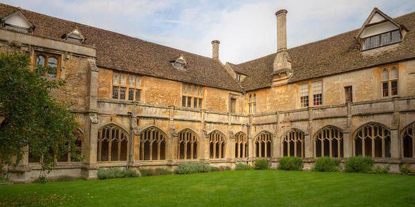 Photograph - Lacock Abbey Cloisters 2 by Clare Bambers