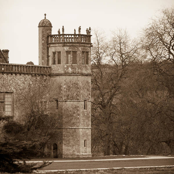 Photograph - Lacock Abbey Octagonal Tower Square by Clare Bambers