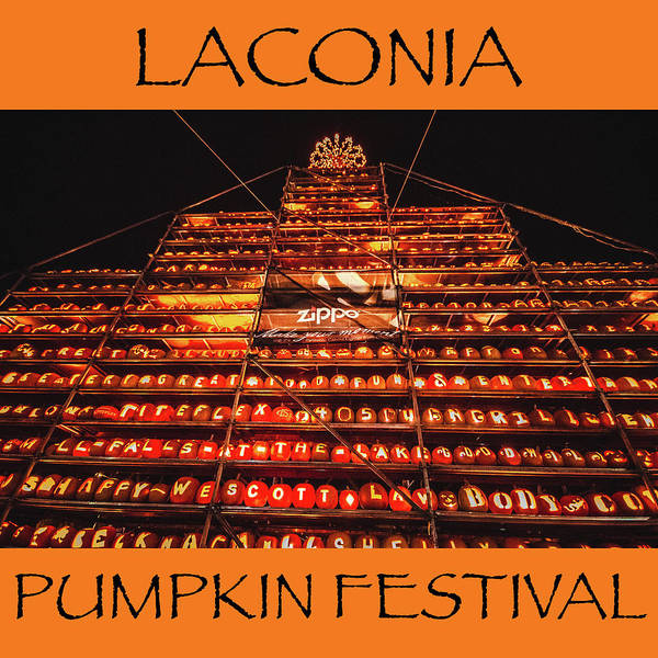 Photograph - Laconia Pumpkin Fest Graphic Design 1 by Robert Clifford