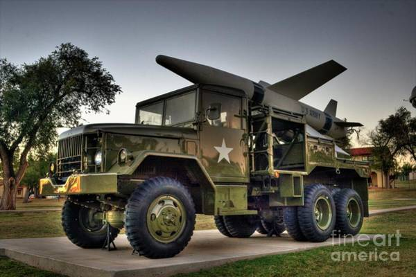 Photograph -  Lacrosse Missile System by Tony Baca