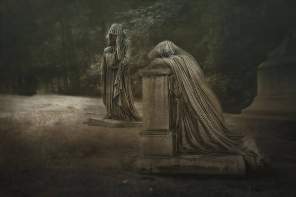 Cemeteries Photograph - Ladies Of Eternal Sorrow by Tom Mc Nemar