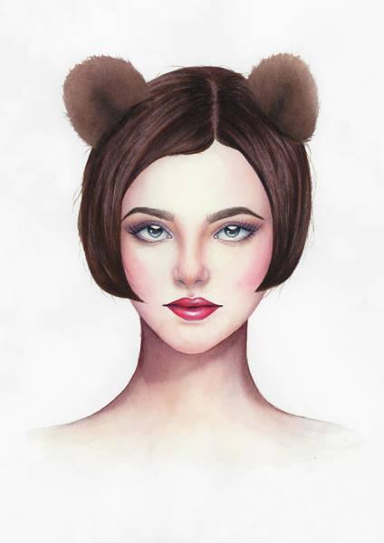 Painting - Lady Bear by Zapista Zapista