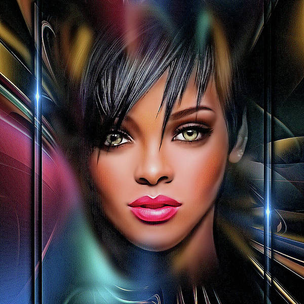 Lady Beautiful Art Print