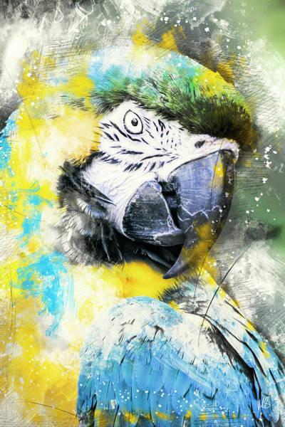 Wall Art - Mixed Media - Lady Bird by Melissa Smith