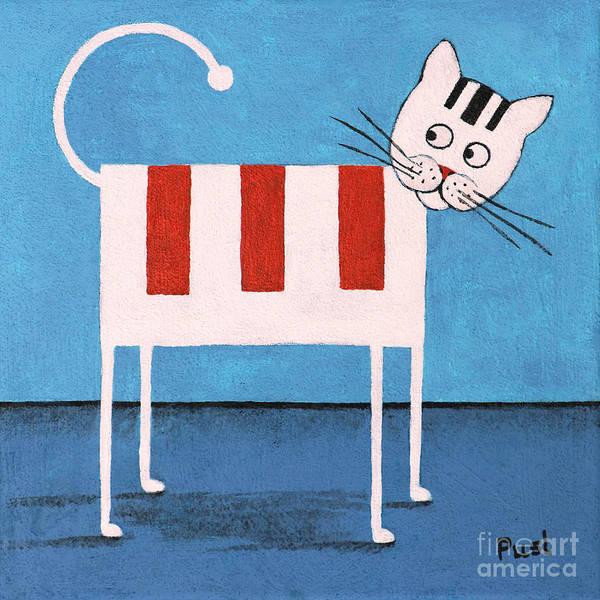 Painting - Lady Cat by Jutta Maria Pusl