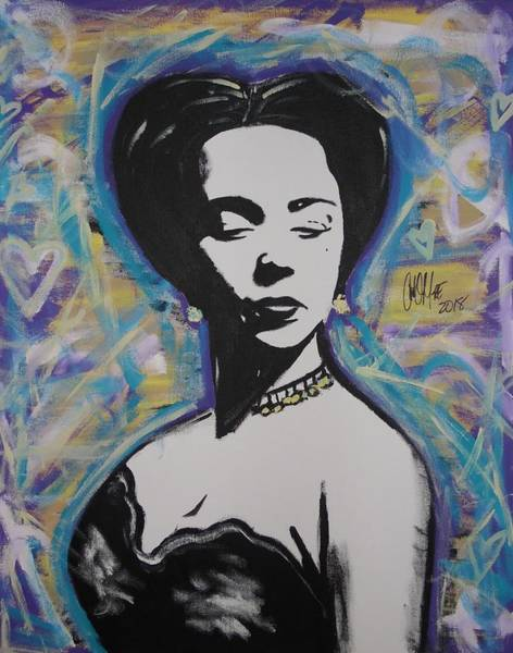 Painting - Lady Dandridge by Antonio Moore