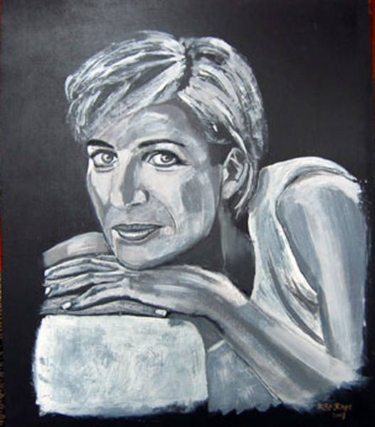 Painting - Lady Di by Richard Le Page