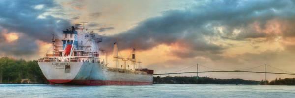 Freighter Photograph - Lady Doris by Lori Deiter