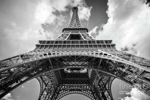 Unusual Photograph - Lady Eiffel by Delphimages Photo Creations