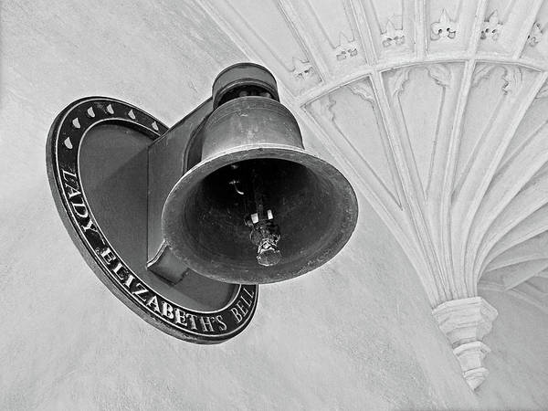 Photograph - Lady Elizabeth's Bell Clare College Cambridge by Gill Billington