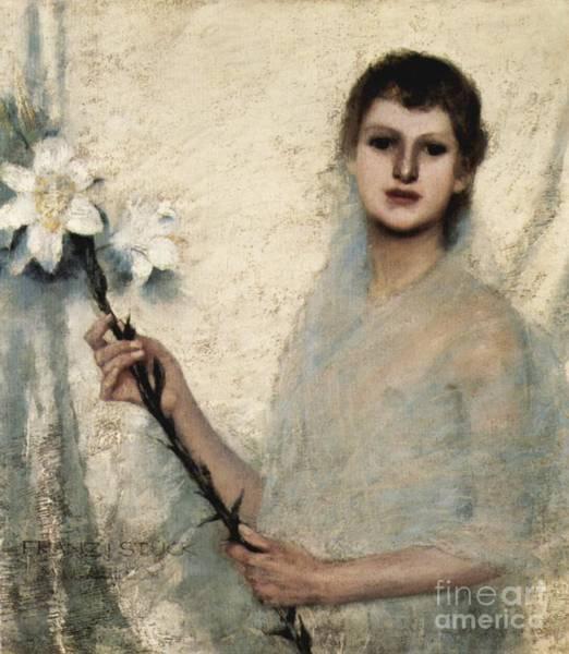 Franz Von Stuck Painting - Lady by MotionAge Designs