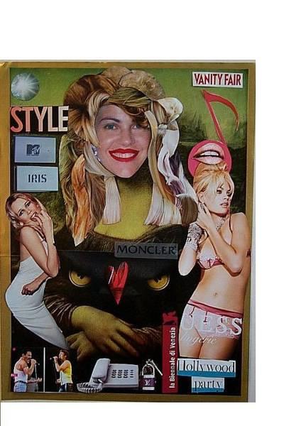 Guess Mixed Media - Lady Gaga Monnalisa by Francesco Martin