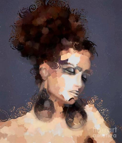 Painting - Lady Hotty Totty by Catherine Lott
