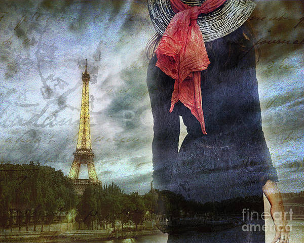 Photograph - Lady In Paris by Alissa Beth Photography