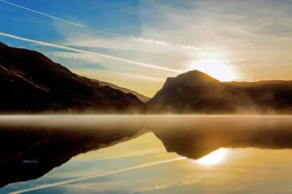 Photograph - Lady In The Lake by Makk Black