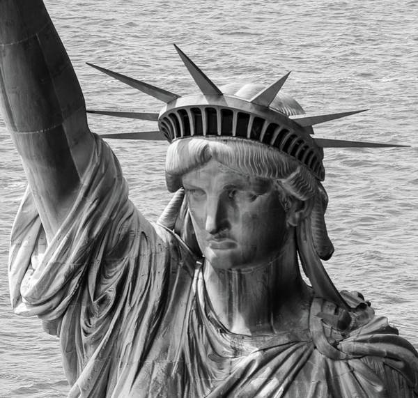 Photograph - Lady Liberty 1 by Rand