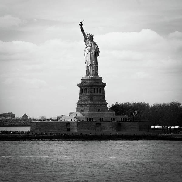 Photograph - Lady Liberty by Parker Cunningham