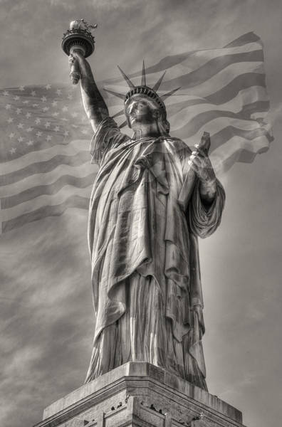 Photograph - Lady Liberty by Patricia Montgomery