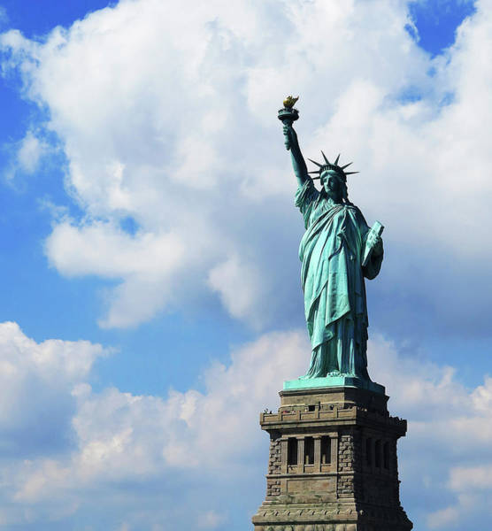 Lady Liberty Photograph - Lady Liberty by Stacia Weiss