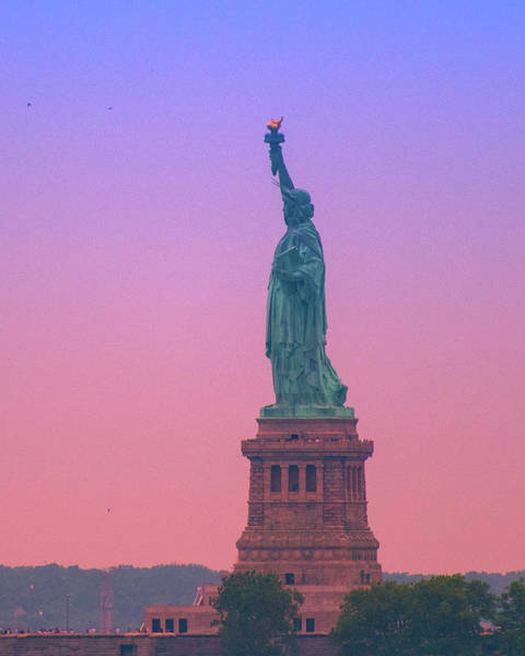Photograph - Lady Liberty, Standing Tall by Marvin Bowser