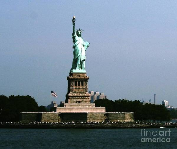 Photograph - Lady Liberty by The Art of Alice Terrill