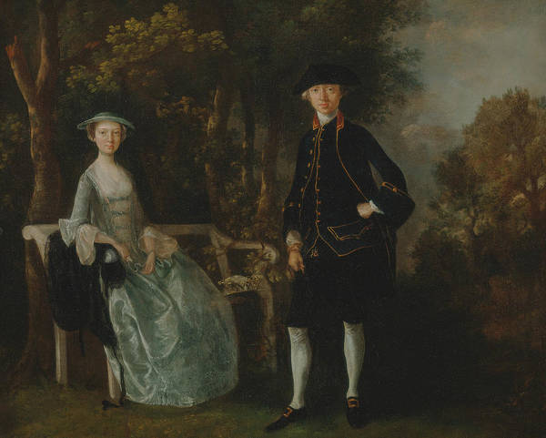 Painting - Lady Lloyd And Her Son by Thomas Gainsborough
