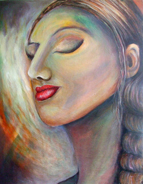Wall Art - Painting - Lady Of Persia by Avon Du Toit