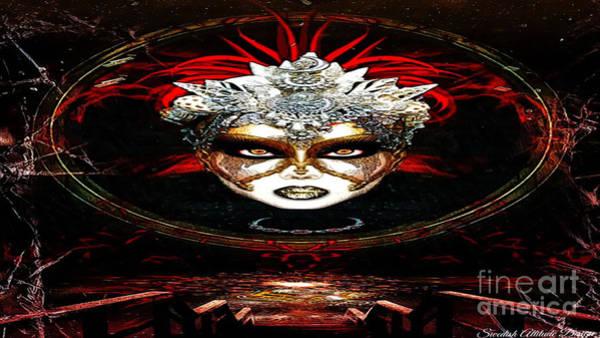 Digital Art - Lady Renaissance La Defense by Swedish Attitude Design